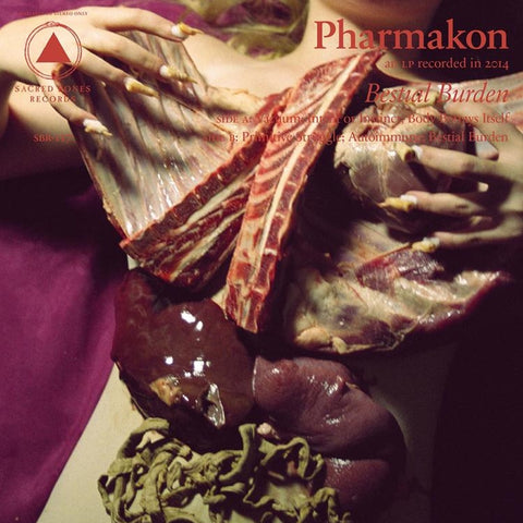 Pharmakon - Bestial Burden on LP - direct audio