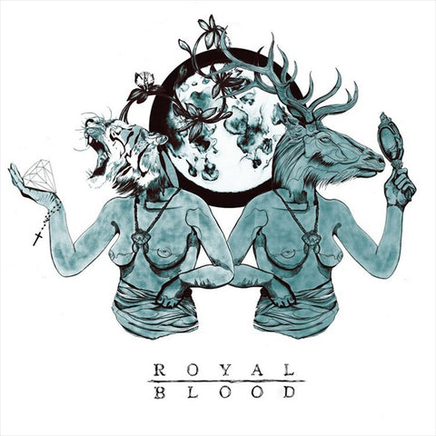 "Royal Blood - Out Of The Black EP on 12"" Vinyl - direct audio"