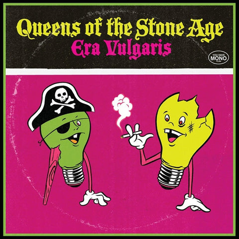 "Queens Of The Stone Age - Era Vulgaris on 3 x 10"" Vinyl - direct audio"