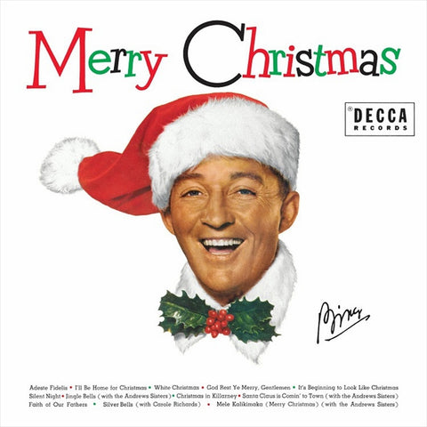 Bing Crosby - Merry Christmas Vinyl LP (Out Of Stock) Pre-order - direct audio