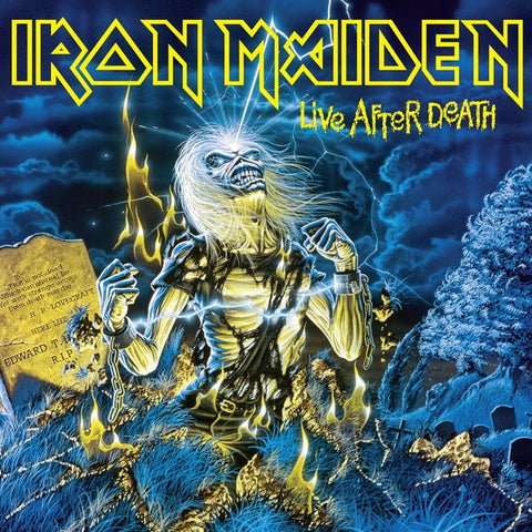 Iron Maiden - Live After Death on 180g 2LP - direct audio