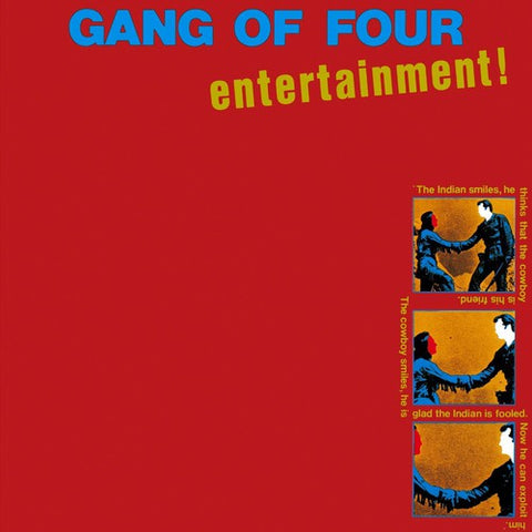Gang Of Four - Entertainment Import Vinyl LP - direct audio