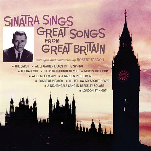 Frank Sinatra - Sinatra Sings Great Songs From Great Britain on LP - direct audio