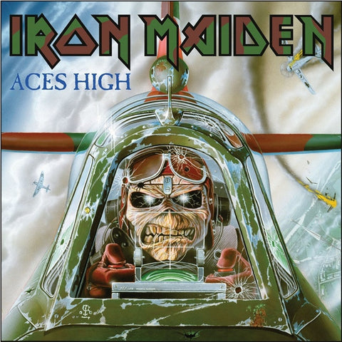 "Iron Maiden - Aces High on Limited Edition 7"" - direct audio"
