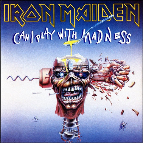 "Iron Maiden - Can I Play With Madness on Limited Edition 7"" Vinyl (Awaiting Repress) - direct audio"