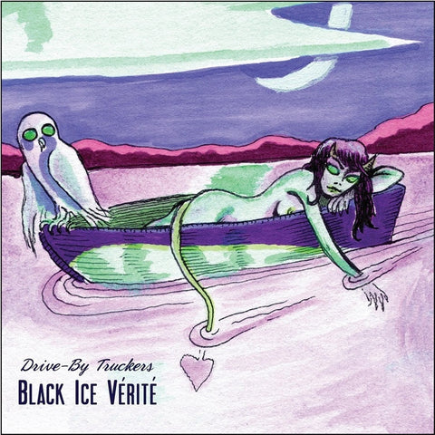 Drive By Truckers - Black Ice Vérité: English Oceans Deluxe Edition on Colored LP + DVD + Download - direct audio
