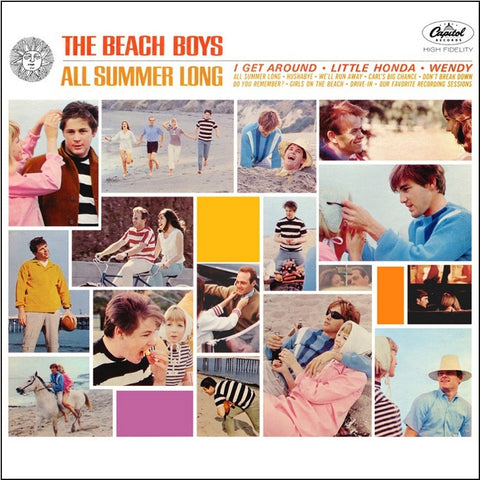 The Beach Boys - All Summer Long on Limited Edition 200g Mono Vinyl LP - direct audio
