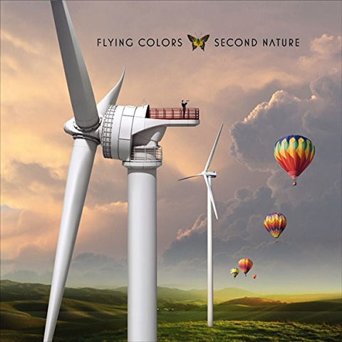 Flying Colors - Second Nature 180g Colored Vinyl 2LP - direct audio