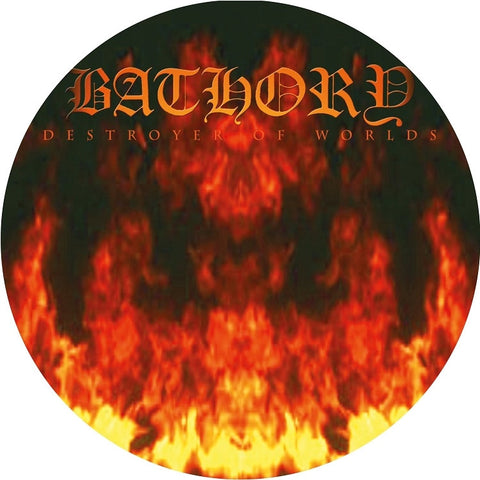Bathory - Destroyer Of Worlds on Limited Edition Picture Disc LP (Awaiting Repress) - direct audio