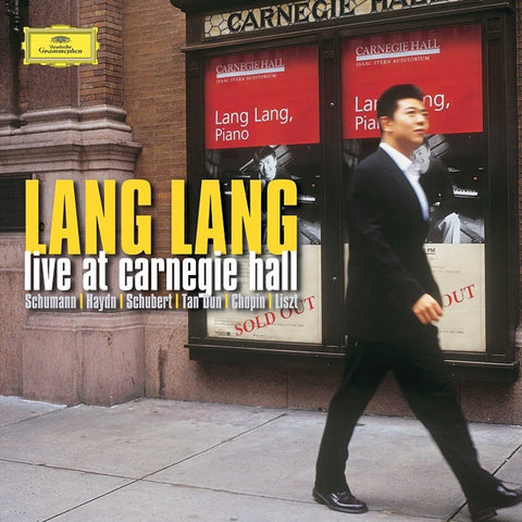 Lang Lang - Live At Carnegie Hall 180g Vinyl 2LP + Download - direct audio