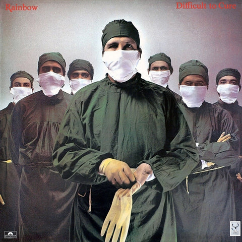 Rainbow - Difficult To Cure on 180g LP + Download - direct audio
