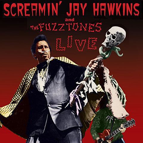 Screamin' Jay Hawkins and The Fuzztones - Live Colored Vinyl LP - direct audio