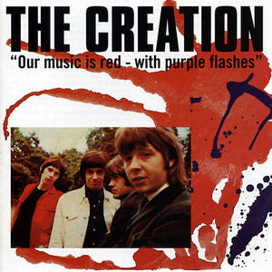 The Creation - Our Music Is Red with Purple Flashes Limited Edition Import Vinyl 2LP - direct audio