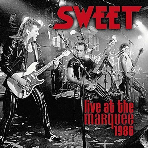 Sweet - Live At The Marquee 1986 Limited Edition Colored Vinyl 2LP w/ Bonus Tracks - direct audio
