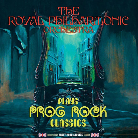 The Royal Philharmonic Orchestra - Plays Prog Rock Classics on Limited Edition Vinyl LP - direct audio