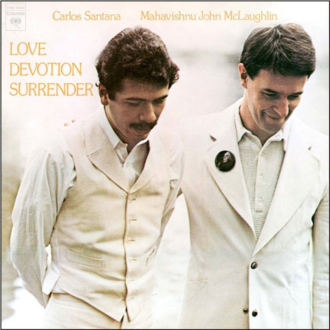 Carlos Santana and John McLaughlin - Love Devotion Surrender on 180g Import LP - direct audio