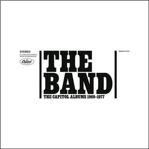 The Band - The Capitol Albums 1968-1977 on Limited Edition 180g 9LP Box Set - direct audio - 1