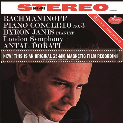 Rachmaninoff - Piano Concerto No. 3 In D Minor - Antal Doráti - Byron Janis - London Symphony Orchestra on 180g Vinyl LP - direct audio