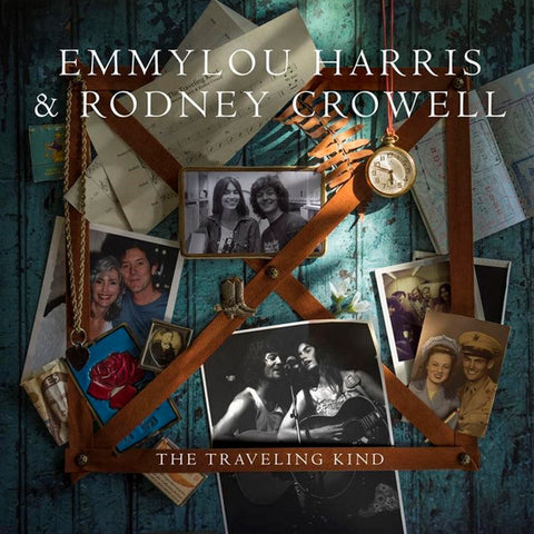 Emmylou Harris And Rodney Crowell - The Traveling Kind on LP + Download - direct audio