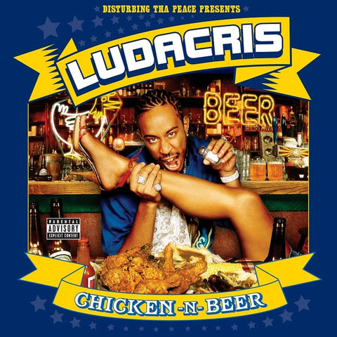 Ludacris - Chicken N Beer on Colored 2LP - direct audio