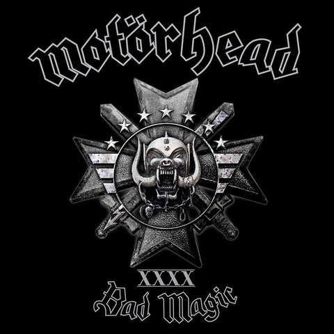 Motorhead - Bad Magic on 180g LP + CD + Download - direct audio