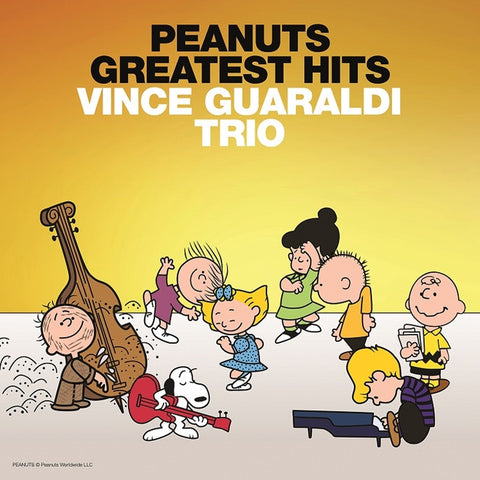 Vince Guaraldi Trio - Peanuts Greatest Hits on Vinyl LP - direct audio