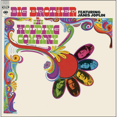 Janis Joplin - Big Brother And The Holding Company on 180g LP - direct audio