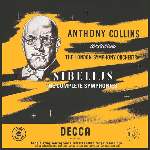 Sibelius: The Complete Symphonies - Anthony Collins - The London Symphony Orchestra on Numbered Limited Edition 180g 6LP Box Set - direct audio