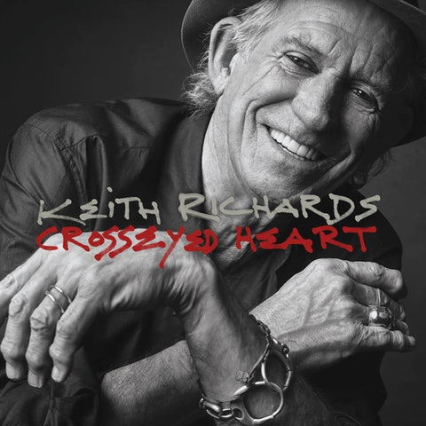 Keith Richards - Crosseyed Heart on 180g 2LP - direct audio