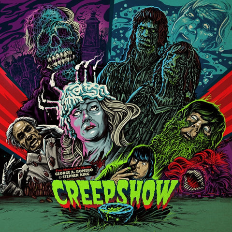 John Harrison - Creepshow: Original 1982 Score on Limited Edition Colored 180g LP January 20 2017 Pre-order - direct audio