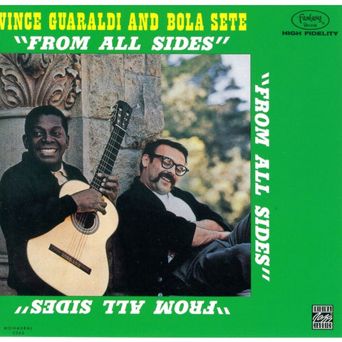 Vince Guaraldi And Bola Sete - From All Sides on LP - direct audio
