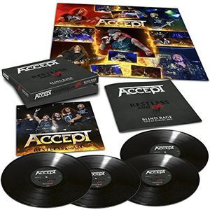 Accept - Restless & Live Limited Edition Import Vinyl 4LP - direct audio