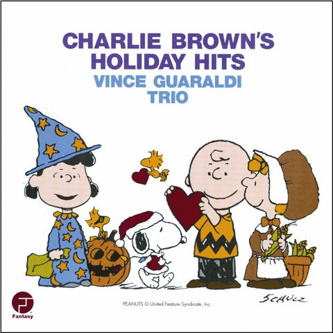 Vince Guaraldi Trio - Charlie Brown's Holiday Hits on Vinyl LP - direct audio