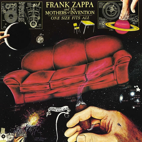 Frank Zappa - One Size Fits All on Limited Edition 180g LP - direct audio