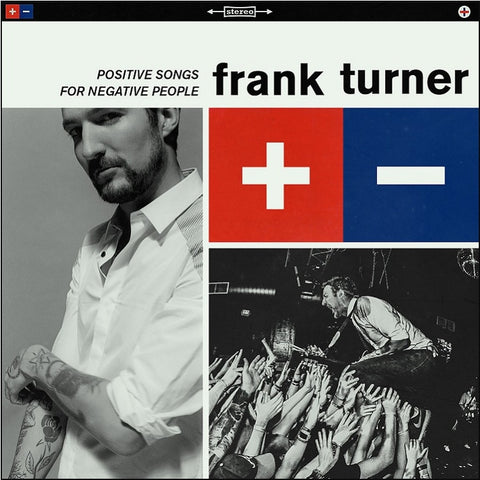 Frank Turner - Positive Songs For Negative People on 180g LP - direct audio