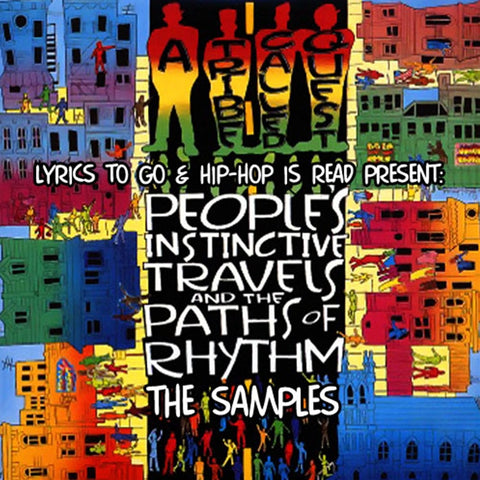A Tribe Called Quest - People's Instinctive Travels & Paths Of Rhythm on LP - direct audio