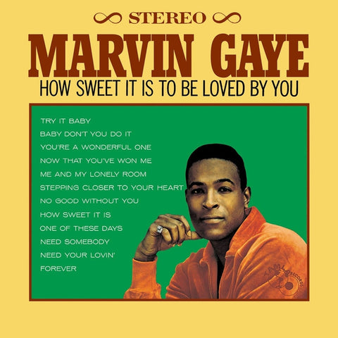 Marvin Gaye - How Sweet It Is To Be Loved By You 180g LP - direct audio