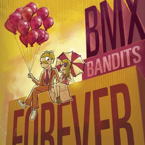 BMX Bandits - BMX Bandits Forever Limited Edition Colored Vinyl LP + Download (Awaiting Repress) - direct audio