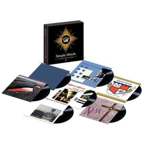Simple Minds - The Vinyl Collection 1979-1984 on 180g 7LP Box Set + Download - direct audio