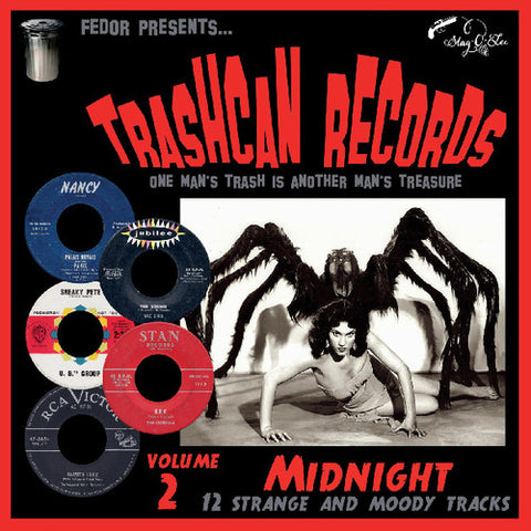 "Trashcan Records Volume 2: Midnight - Various Artists 10"" Vinyl EP (Out Of Stock) - direct audio"