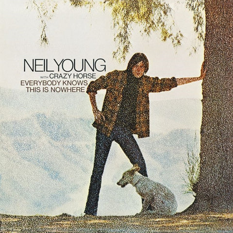 Neil Young - Everybody Knows This Is Nowhere on Vinyl LP - direct audio