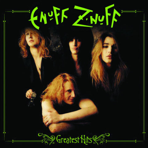Enuff Z'nuff - Greatest Hits Colored Vinyl LP - direct audio