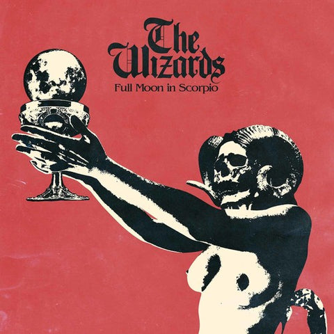 The Wizards - Full Moon in Scorpio Colored Vinyl LP (Out Of Stock) - direct audio