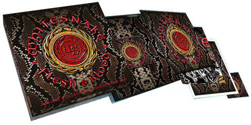 Whitesnake - Flesh and Blood Vinyl 2LP + CD + DVD Box Set