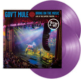 Gov't Mule - Bring on the Music: Live at the Capitol Theatre: Vol. 1 180g Colored Vinyl 2LP - direct audio