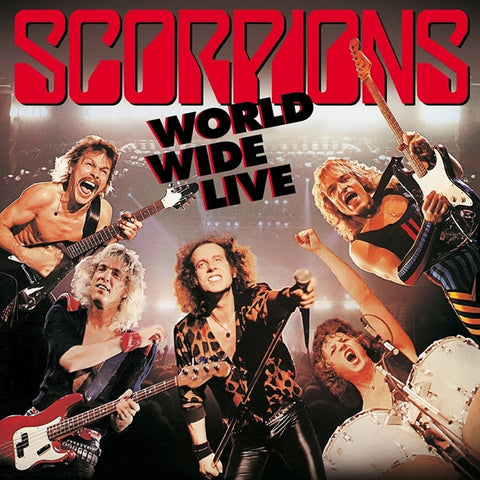 Scorpions - World Wide Live on 180g 2LP - direct audio