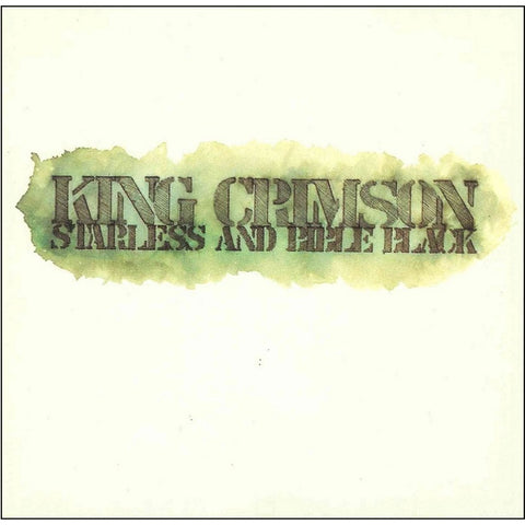 King Crimson - Starless And Bible Black on Limited Edition 200g Import LP + Download - direct audio