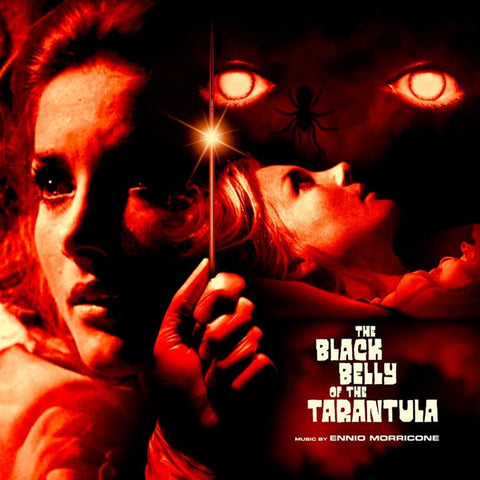 Ennio Morricone - The Black Belly Of The Tarantula Soundtrack on Limited Edition 180g 2LP - direct audio