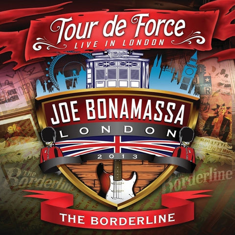 Joe Bonamassa - Tour De Force: Live In London - The Borderline on Limited Edition Import 180g 2LP - direct audio