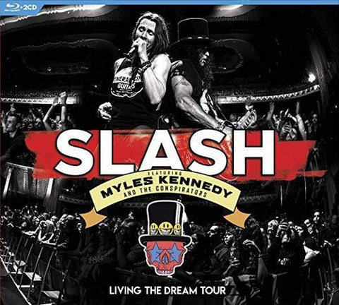 Slash, Myles Kennedy and the Conspirators - Living the Dream Tour Blu-ray + 2CD - direct audio